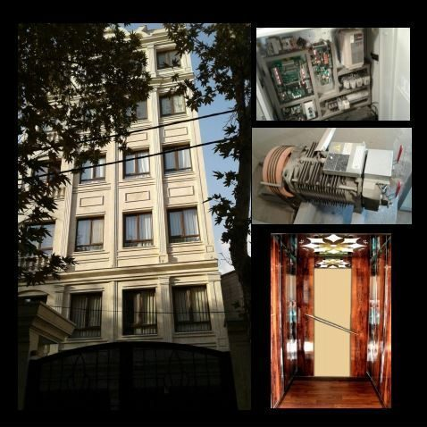 پروژه: آسانسور پله برقی